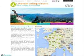 L'annuaire du camping caravaning en France