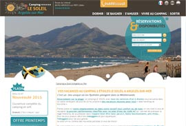 Sites Internet - Camping Le Soleil